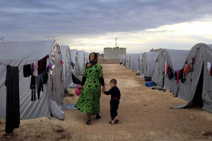курды, беженцы, Турция, фото дня, фото