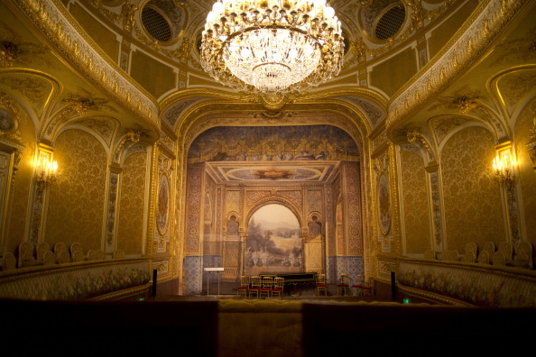 Париж, Фонтенбло, Китайский музей, кража