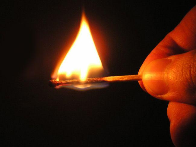 поджог, пожар