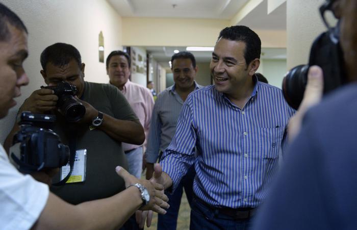 Гватемала, выборы президента, Моралес