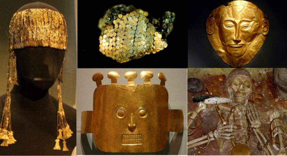 Золотые сокровища древнего мира.