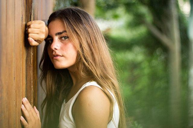 девушка, грусть, волосы, жизнь, печаль