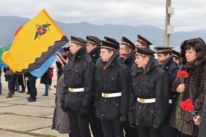 3 февраля в Новороссийске тысячи школьников собрались на Малой земле на детскую вахту памяти, которая проходила в рамках патриотической акции «Бескозырка»