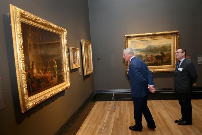 Первая более чем за 50 лет крупная выставка Делакруа, французского художника, открывается в лондонской Национальной галерее.