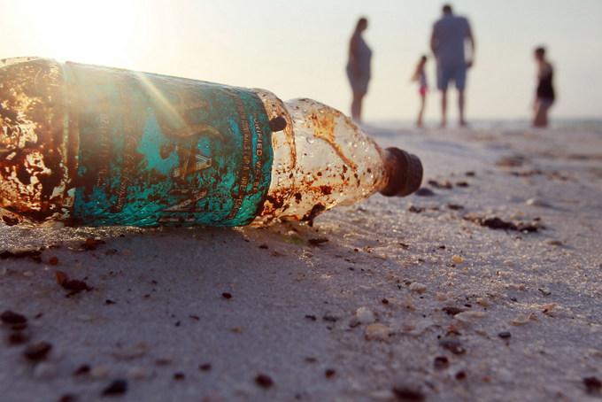 мусор, пластик, океан