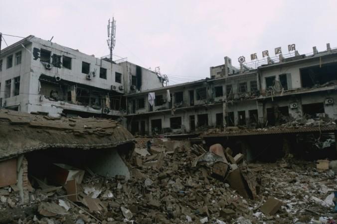 взрыв в Синьмине
