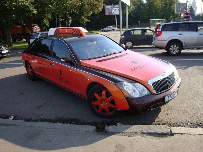 машина, автомобиль, красный, такси