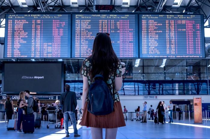 билет, самолёт, путешествие