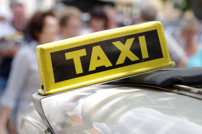 такси, машина, водитель