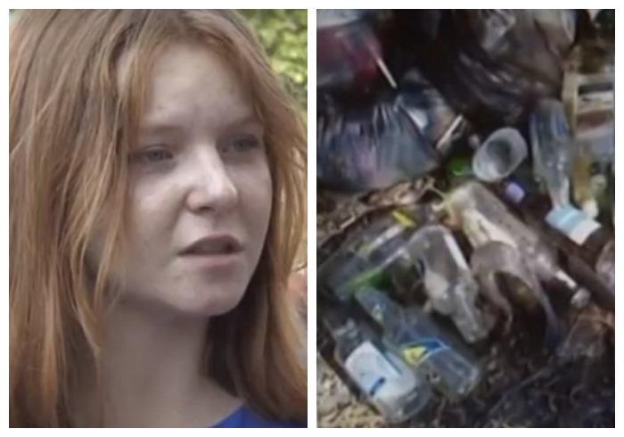 мусор, люди, грязь