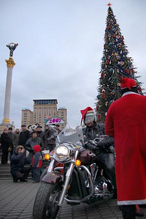 В сердце Киева Новый Год встречали тысячи украинцев