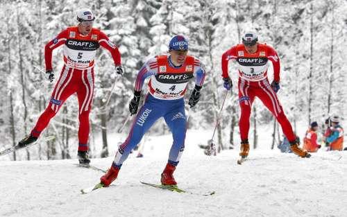 """126 vas snowmen 8010103 - Фотообзор: В лыжном соревновании """"Тур де ски"""" победу одержал Бауэр"""