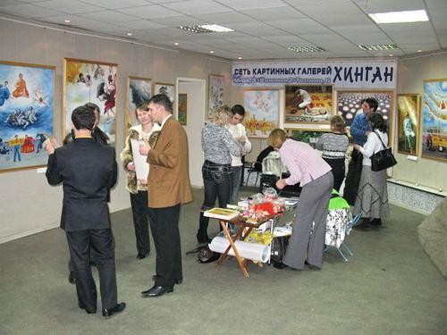 105 040203 - В Красноярске состоялось открытие выставки «Истина, Доброта, Терпение»