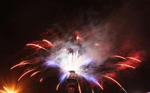 Фотообзор: Новая Зеландия встретила Новый Год