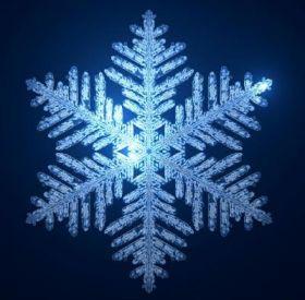 Создана математическая модель снежинки