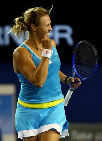 115 vas80114124 - Фотообзор: Теннис. Открытый чемпионат Австралии. Первый день. Женщины