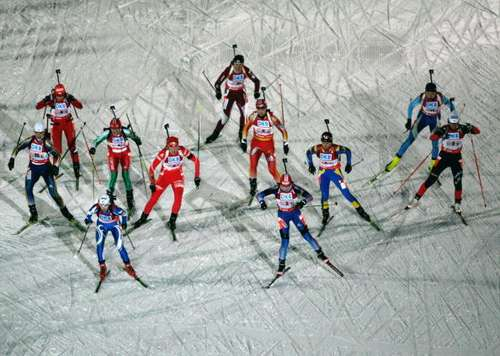 Фотообзор: Биатлон. 4-й этап Кубка мира