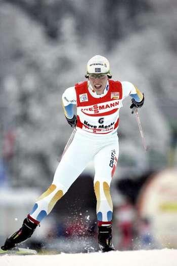 """126 vas snowwom 8010113 - Фотообзор:  Шарлотта Калла пришла первая в лыжном соревновании """"Тур де ски"""""""