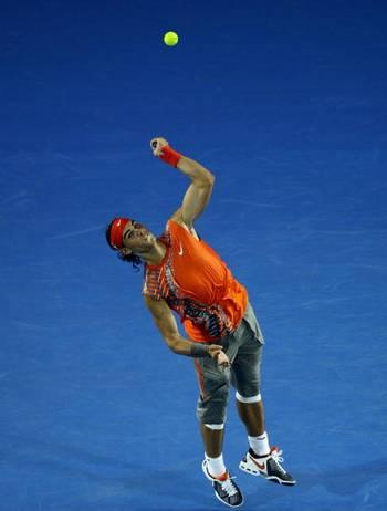 Фотообзор: Теннис. Тсонга разгромил Надаля