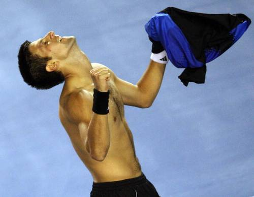 Фотообзор: Теннис. Джокович вышел в финал