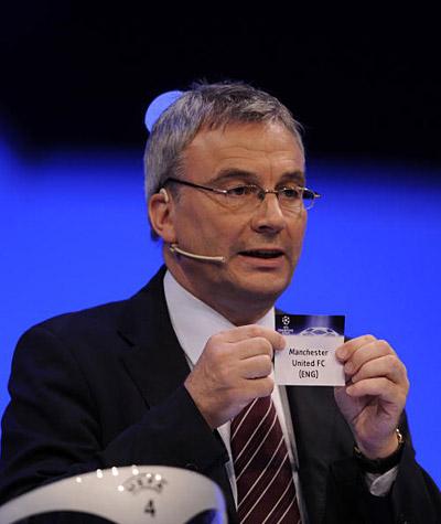 Фотообзор: жеребьевка группового турнира Лиги чемпионов УЕФА