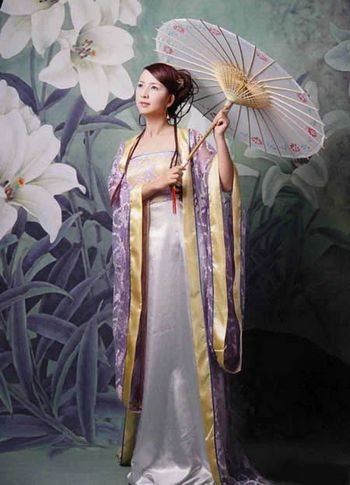 Фотообзор: Традиционные костюмы Древнего Китая