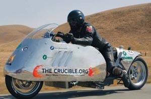 Die Moto - рекордный биодизельный мотоцикл