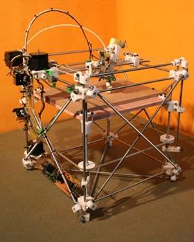 121 shgs08040911 - Разрабатывается 3D-принтер, способный воспроизводить сам себя