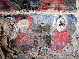 В Афганистане нашли самую раннюю масляную живопись