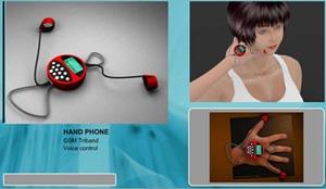 Телефон на пальцах