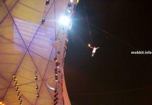 121 shgs08081341 - На церемонии открытия Олимпийских игр часть фейерверков были компьютерными спецэффектами