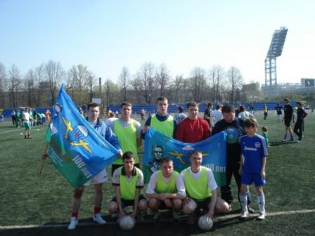 105 030507 - Афганский футбол по случаю праздника Победы прошел в Петровском округе
