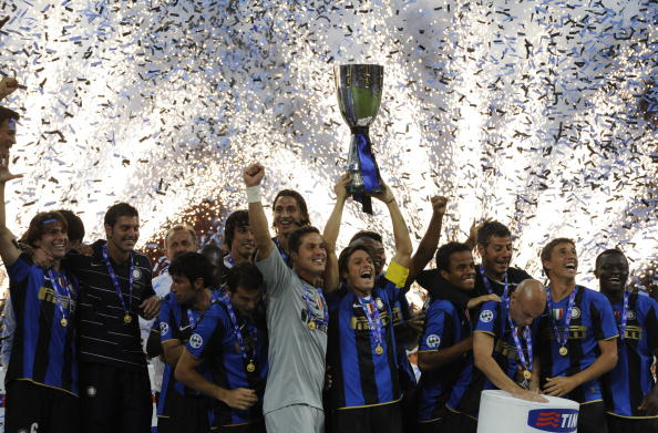 Фотообзор: Суперкубок Италии: «Интер» – «Рома»