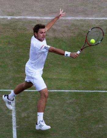 115 vrs200807017 - Фотообзор: Теннис. Четвертый круг Уимблдона. Мужчины