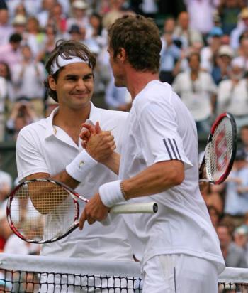 Фотообзор: Теннис. Уимблдон: мужские полуфиналы