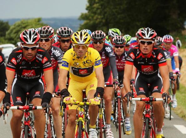 115 vrs200807079 - Фотообзор: Велоспорт. Во французском туре смена лидера