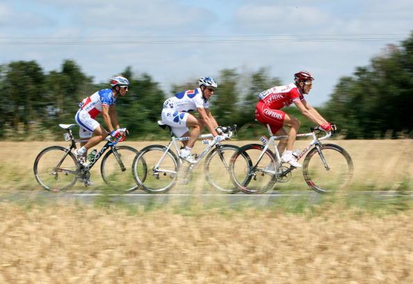 """115 vrs2008070912 - Фотообзор: Велоспорт. 5-й этап """"Тур де Франс"""""""