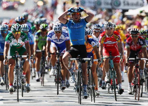 """115 vrs200807092 - Фотообзор: Велоспорт. 5-й этап """"Тур де Франс"""""""