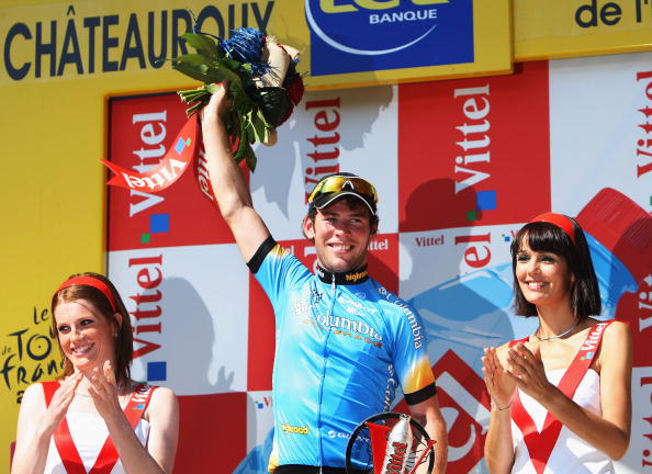 """115 vrs200807096 - Фотообзор: Велоспорт. 5-й этап """"Тур де Франс"""""""