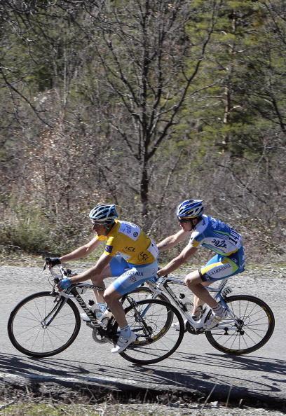 """90 vrs200803173 - Фотообзор: Велоспорт. Ребеллин впервые выиграл гонку """"Париж-Ницца"""""""