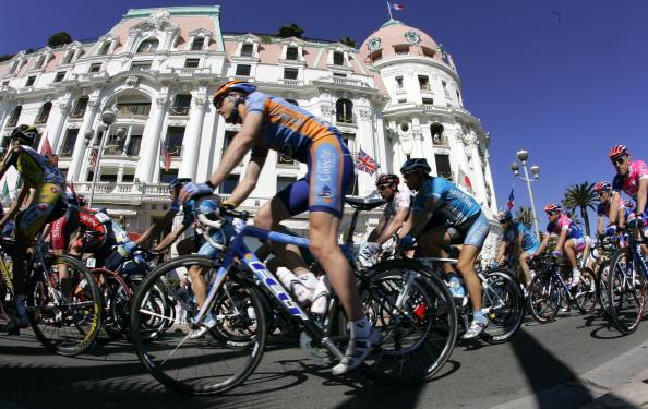 """90 vrs200803174 - Фотообзор: Велоспорт. Ребеллин впервые выиграл гонку """"Париж-Ницца"""""""