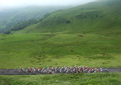 90 vrs200807111 - Фотообзор: Велоспорт. Кирхен сохраняет лидерство