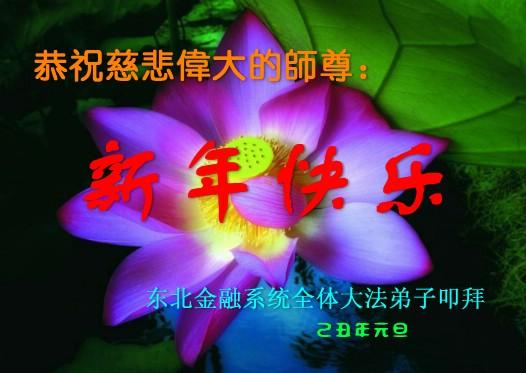 115 3112 heka3 - Фотообзор: Поздравительные новогодние открытки основателю Фалуньгун, присланные из Китая