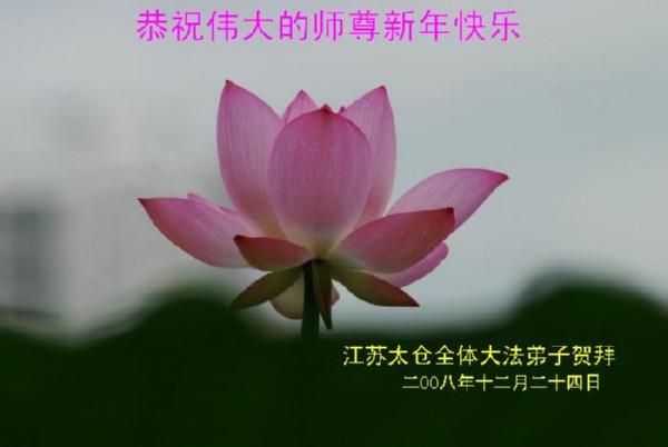 115 3112 heka33 - Фотообзор: Поздравительные новогодние открытки основателю Фалуньгун, присланные из Китая