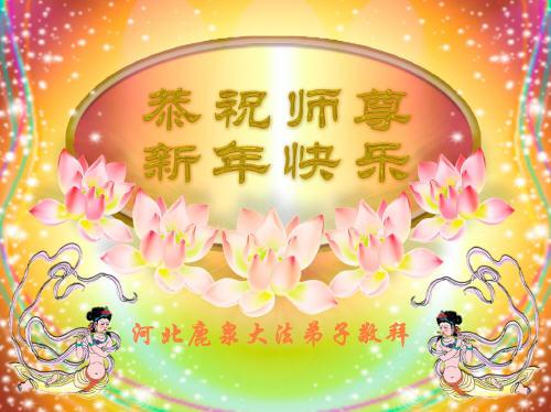 115 3112 heka34 - Фотообзор: Поздравительные новогодние открытки основателю Фалуньгун, присланные из Китая