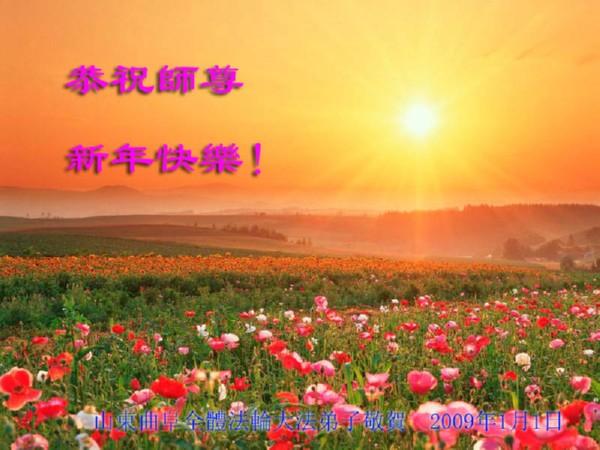115 3112 heka38 - Фотообзор: Поздравительные новогодние открытки основателю Фалуньгун, присланные из Китая
