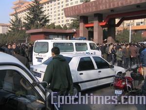 115 veterani1 - 2000 ветеранов протестовали в китайской провинции Шаньси