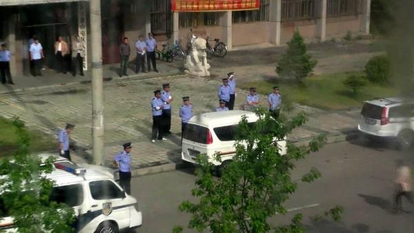Как в Китае проходят суды над неугодными компартии людьми