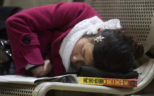 Фотообзор: Массовая предпраздничная миграция китайцев