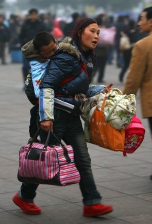 Бедных матерей-одиночек в Китае больше 9 миллионов